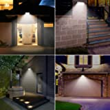 Solar Lights Outdoor, LOZAYI IP65 Waterproof