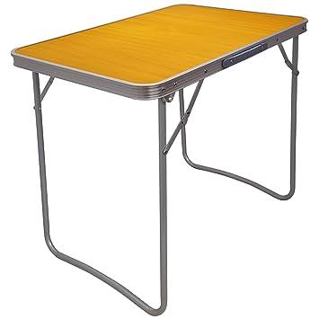 Mesa plegable resistente para catering, camping, mesa para barbacoa, picnic, fiesta,