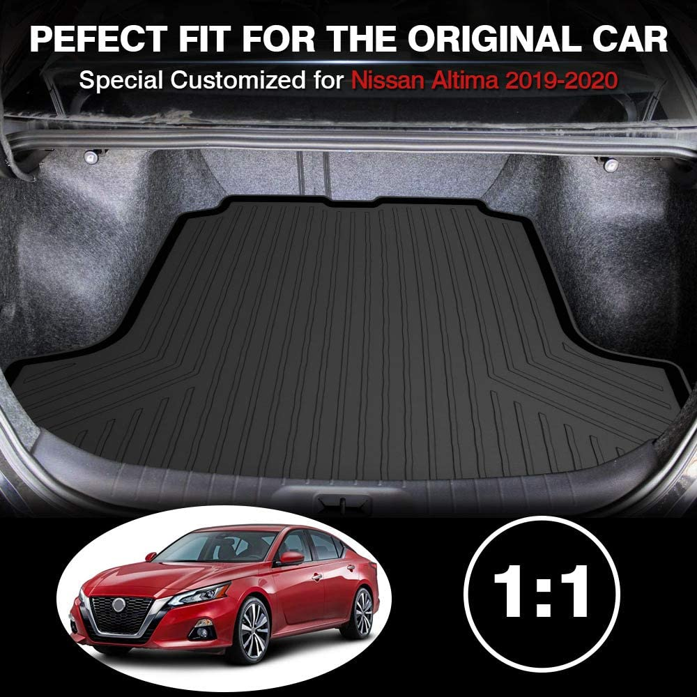Powerty Trunk Mat All Weather TPO Rear Cargo Liner for Lexus NX200t NX300 NX300h 2015 2016 2017 2018 2019 2020