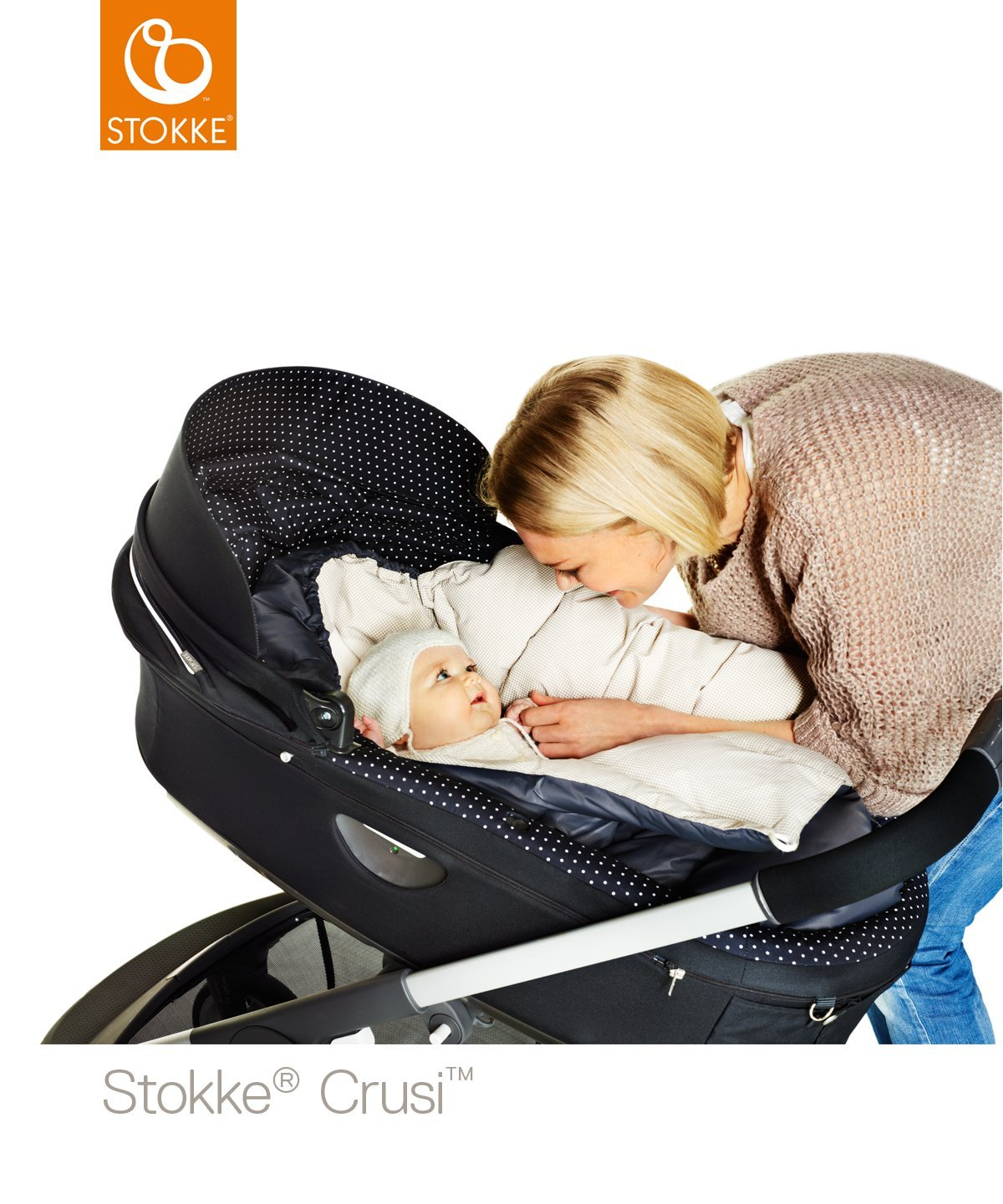 Stokke Crusi Carry Cot - Purple by Stokke (Image #5)