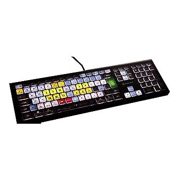 Editores Teclas Teclado Avid Pro Tools | Teclado retroiluminado para PC: Amazon.es: Electrónica