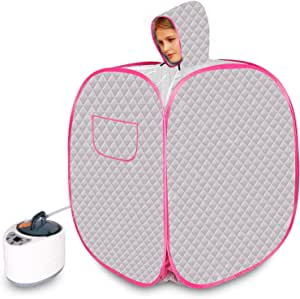Wodesid Portable Saunas for Home Personal Sauna Tent with 3L 1000W Steam Generator Indoor Sauna Spa with Remote Control for Weight Loss, Detox, Relaxation at Home