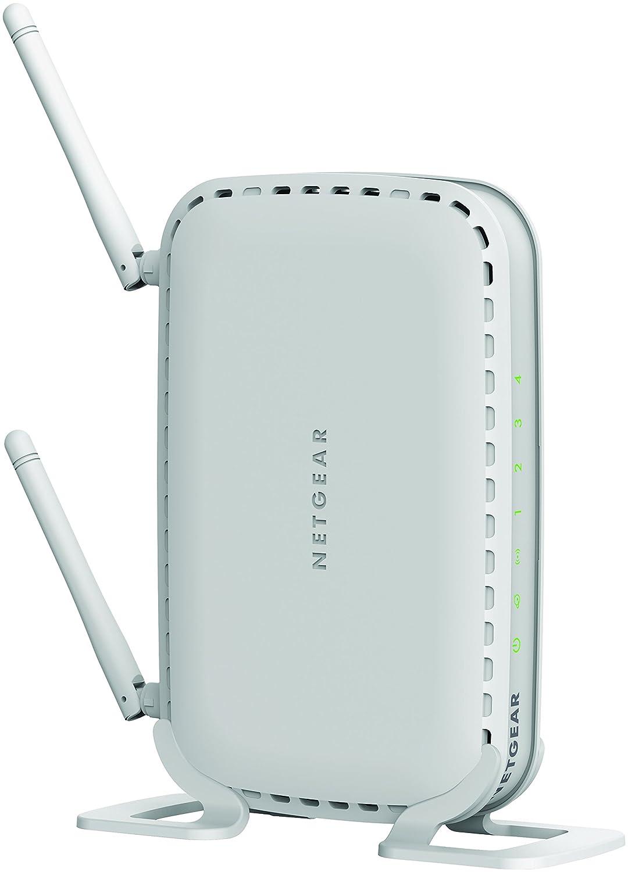 NETGEAR WNR614-100PES Routeur Wifi N300 avec 2 Antennes - Compatible avec  toutes les Box Internet - Blanc