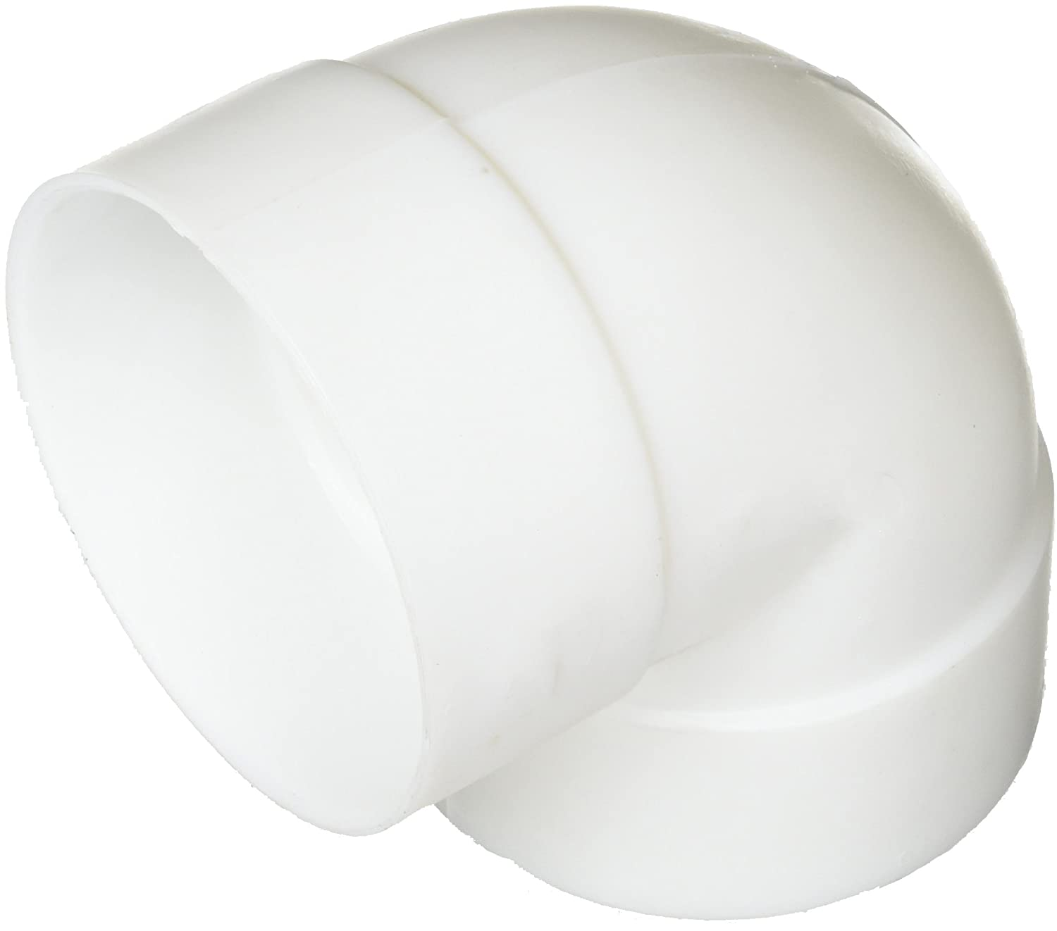 GENOVA PRODUCTS TV860445 2x3 WHT Side Elbow