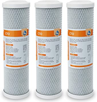CTO 5 micron Carbon Block Water Filter Reverse Osmosis system