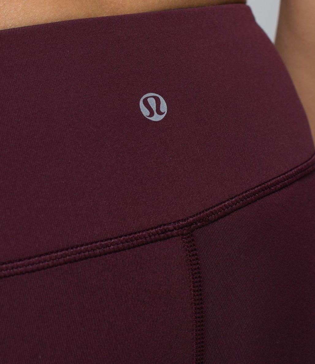 Lululemon Wunder Under Pant III Yoga Pants (Bordeaux, 10) by Lululemon (Image #6)