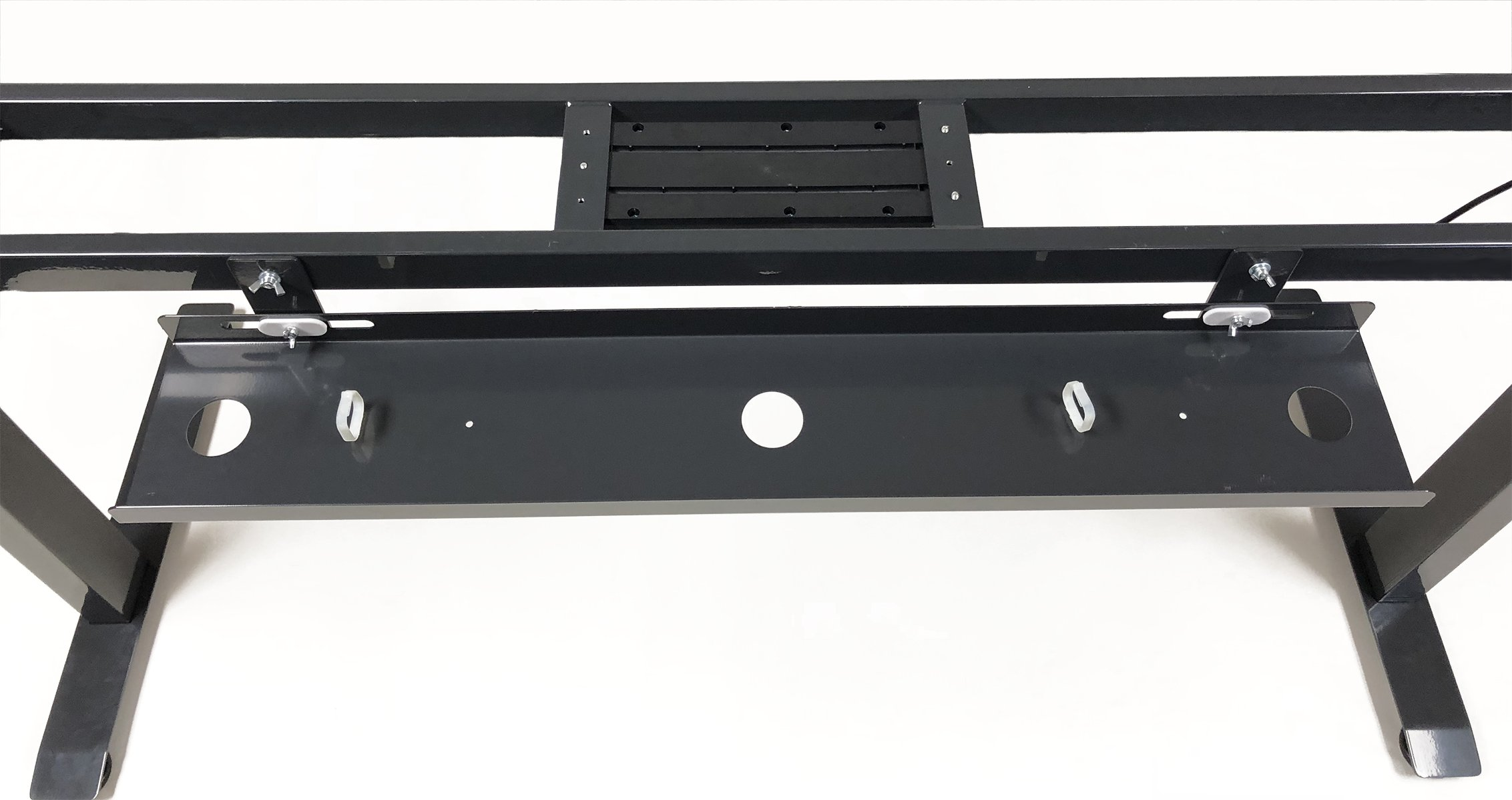 ApexDesk 36-inch Cable Management Tray - Compatible Only with The 60'' and 71'' Elite Series Standing Desk (Black) by ApexDesk