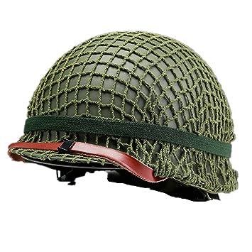 WW2 la nos M2 acero casco