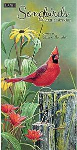 LANG Songbirds 2021 Vertical Wall Calendar (21991079122)