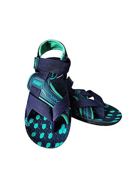93c314359 MYE Men s Sandal Air-Walk Blue Color Slingback Synthetic Sandals Floaters  for Men