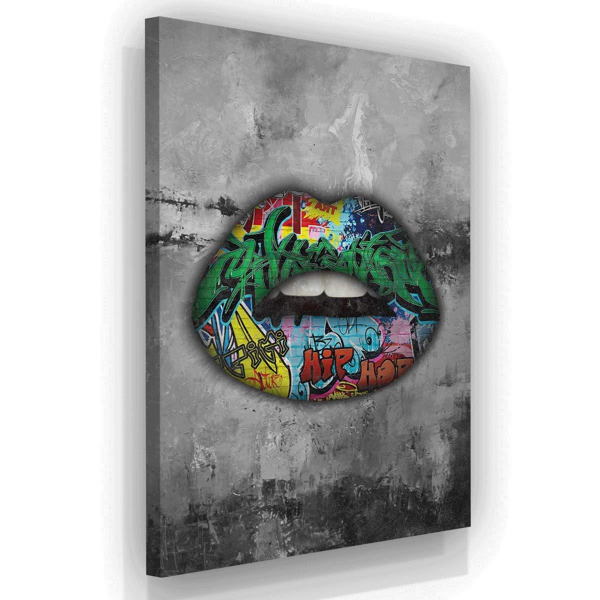 Modern Art Lips