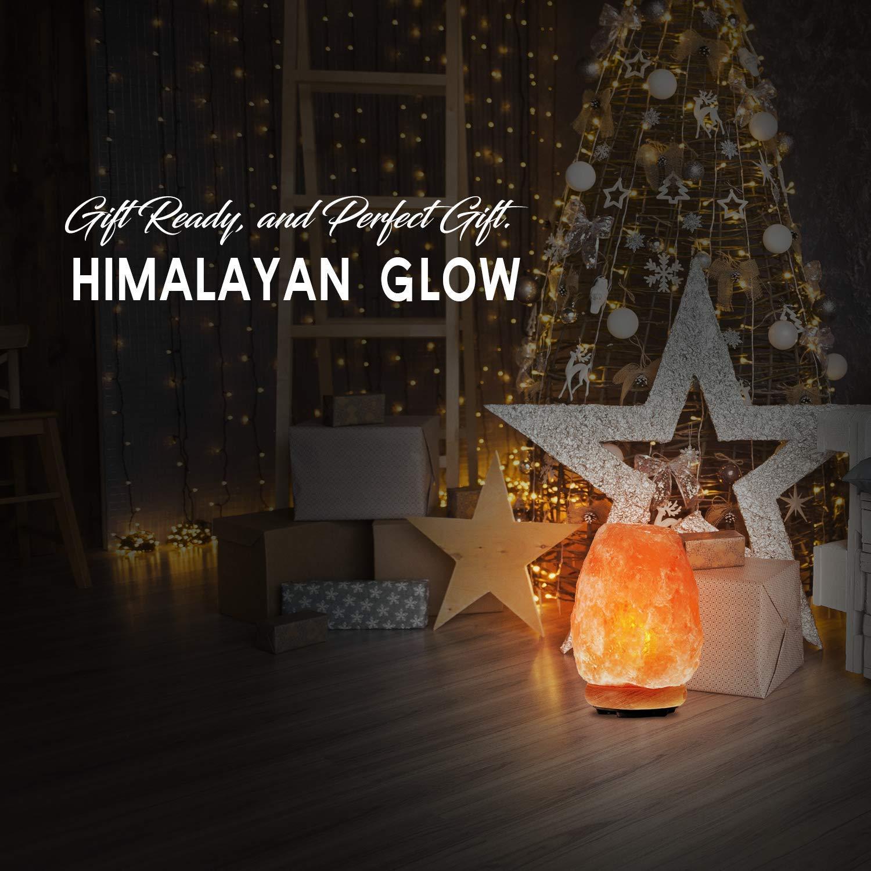 Himalayan Glow 1002 Pink Crystal Salt Lamp Salt Lamp (8-11 lbs) Salt Lamp (8-11 lbs) by Himalayan Glow (Image #3)