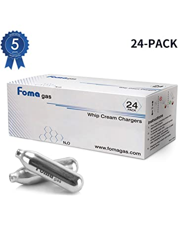 Foma Gas Foma gas Whipped Cream Chargers, N2O Whipped Cream Chargers 24 Packs
