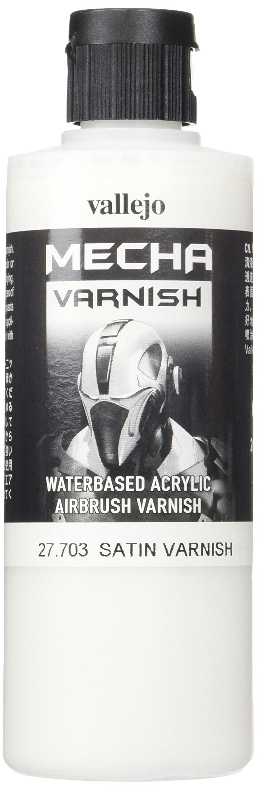 Vallejo Mecha Satin Varnish 200ml Painting Accessories