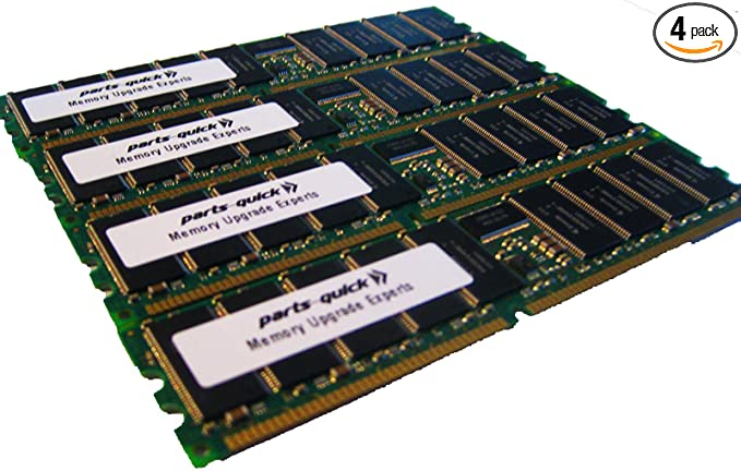 2GB Dell PowerEdge 650 1750 2600 2650 Server Memory PC2100 ECC RAM DIMM 266MHz
