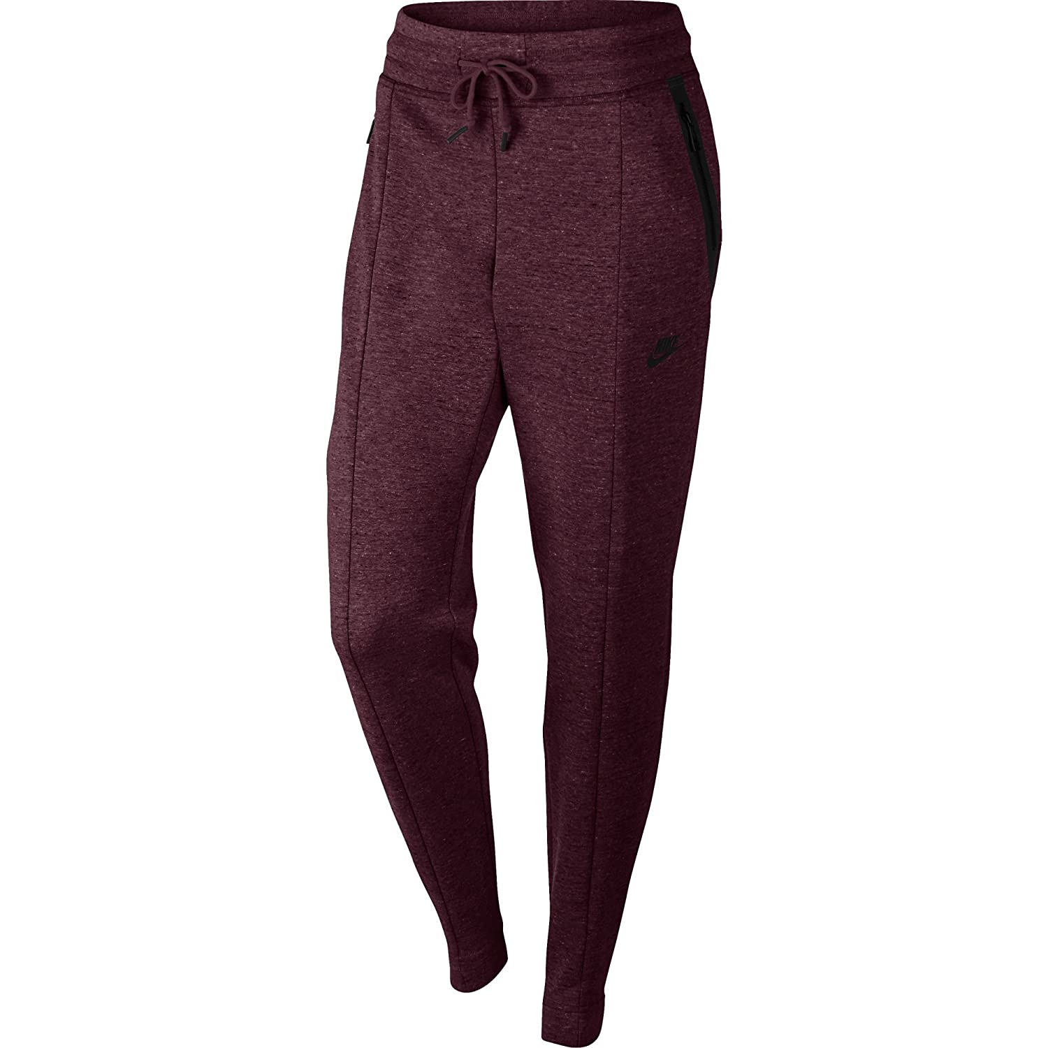 size 40 3f8c3 eb2a4 Amazon.com  NIKE Sportswear Tech Fleece Women s Pants Night Maroon Heather Black  803575-681 (Size XL)  Clothing