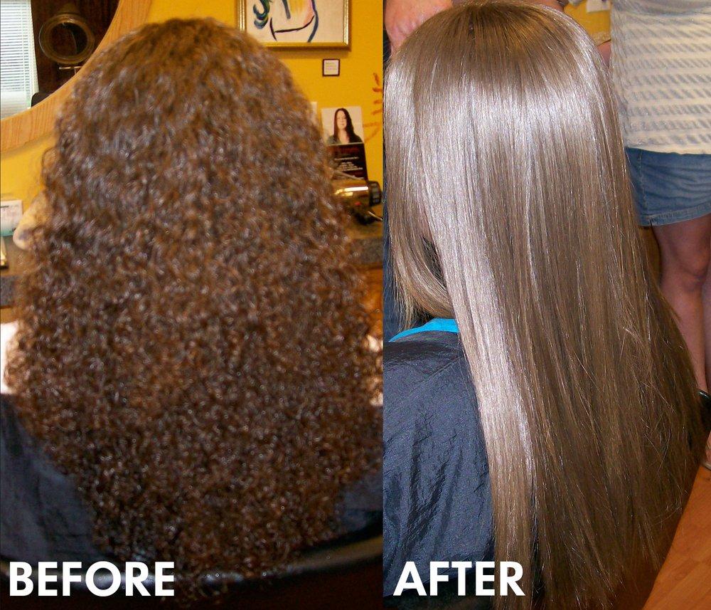 NEW Brazilian Omnia Tanino Plastic Hair Straightener Treatment