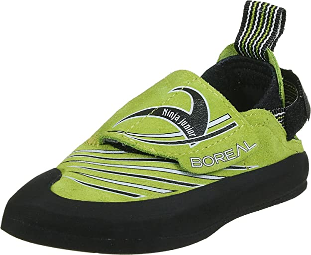 Amazon.com | Boreal Climbing Shoes Kids Ninja JR Verde 38 ...