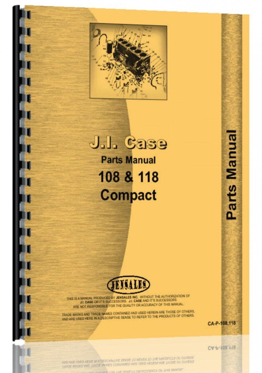 Amazon.com : Case 108 (9670652 & up) 118 (9671637 & up) Lawn & Garden  Tractor Parts Manual Catalog : Garden & Outdoor