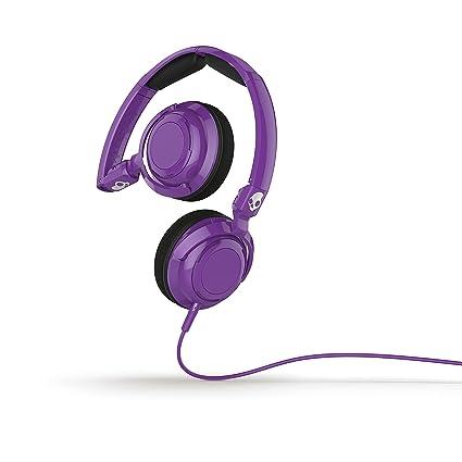 Skullcandy Lowrider con micrófono Athletic, color morado, Púrpura ...
