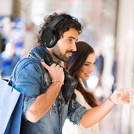 Barsone Active Noise cancellazione cuffie, Hi Fi Bluetooth