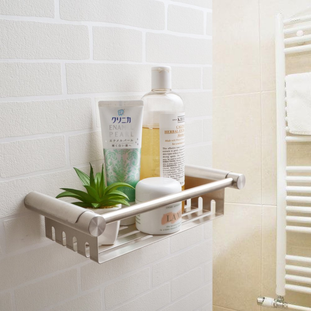 KES Stainless Steel Shower Caddy Removable Basket Shelf with Tower ...