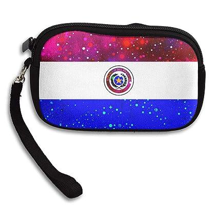 Monedero con diseño de Bandera de Paraguay, con Cierre ...