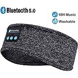 Sleep Headphones Sleeping Headphones Bluetooth, Bluetooth Headband Headphones with Built-in Thin Speakers, Comfortable…