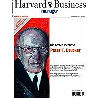 Harvard Business Manager Edition 1/2010: Die besten Ideen von Peter F. Drucker (Edition Harvard Business Manager)