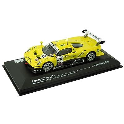 Voiture miniature Lotus Elise GT1 - 24 Heures du Mans (1:43) - jaune