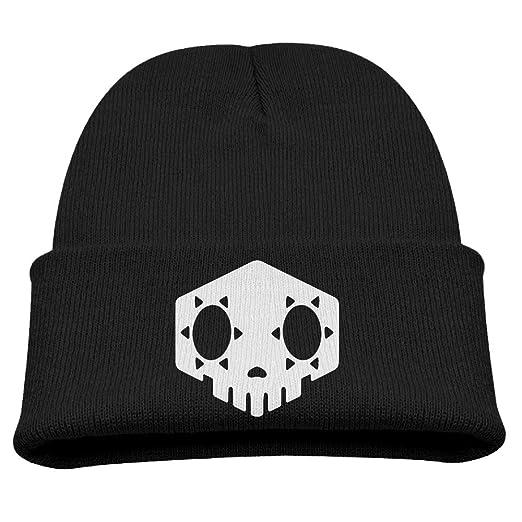 2ddf4e68a87 Sombra Skull Overwatch Video Game Warm Winter Hat Knit Beanie Skull Cap  Cuff Beanie Hat Winter