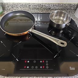 Teka TC6400 Integrado Cerámico Negro - Placa (Integrado ...