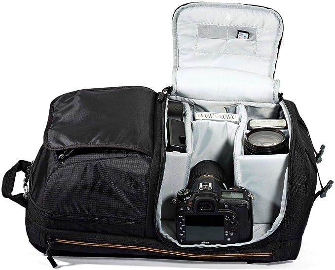 Lowepro Fastpack BP 250 AW II - Mochila para cámara, Negro: Amazon ...