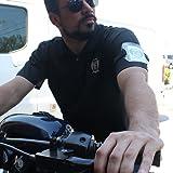 Armband Badge Holder with Black Adjustable