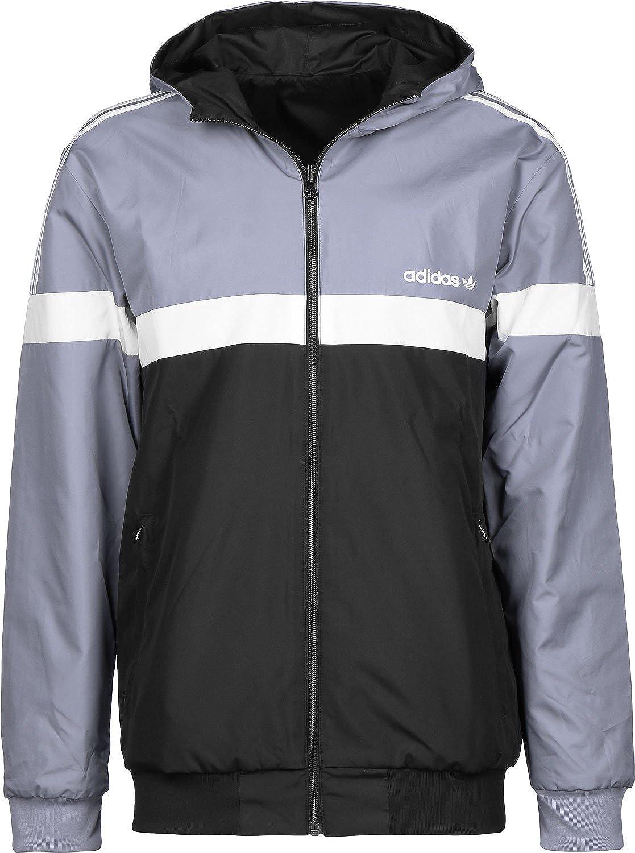 Adidas Jkt Reversible Grey Black White