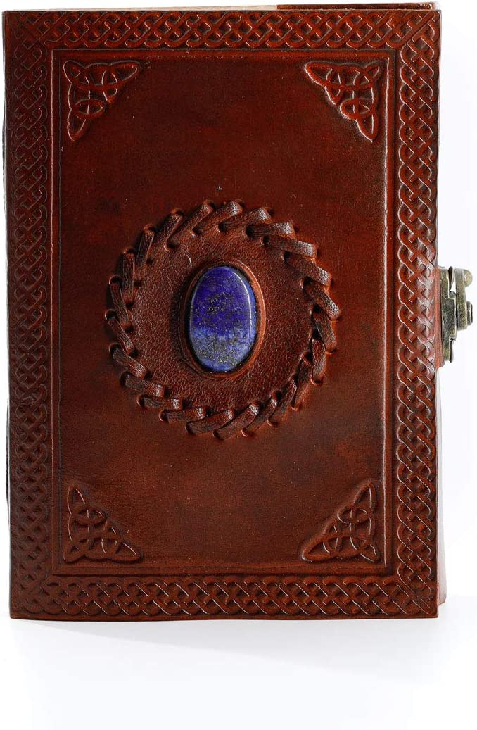 C leather journals christmas gift Handmade Traditional Genuine Leather Cover Personal Plain Journal Diary Notebook For Business Work black friday /& cyber monday gifts