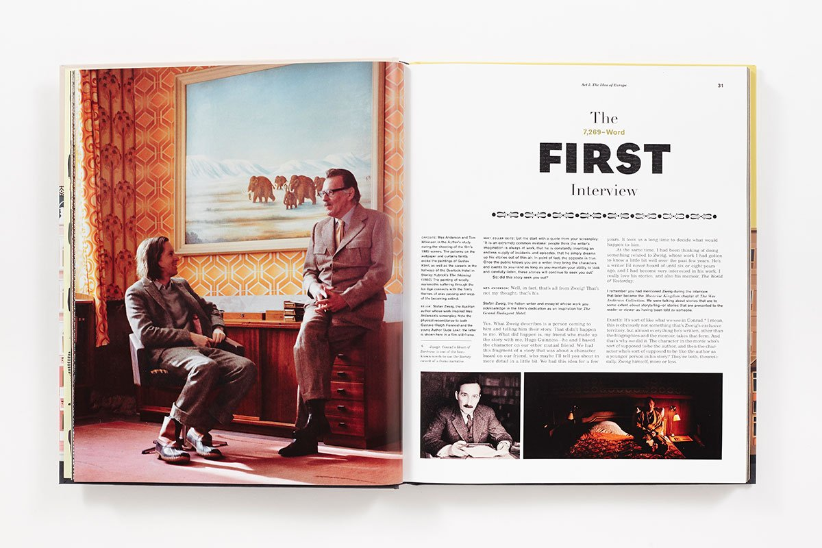 Wes Anderson Coffee Table Book.The Wes Anderson Collection The Grand Budapest Hotel Amazon Co Uk