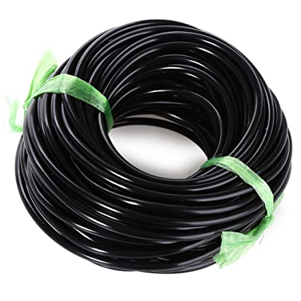 20M Watering Tubing Hose Pipe 3//5mm Micro Drip Garden Irrigation System
