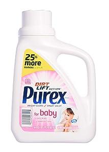 Purex Liquid Laundry Detergent, Baby, 50 Fluid Ounces, 33 Loads