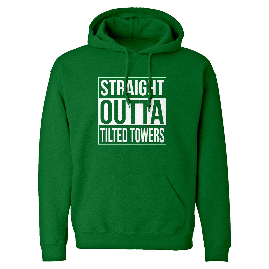 Indica Plateau Straight Outta Tilted Towers Unisex Adult Hoodie 3091-H