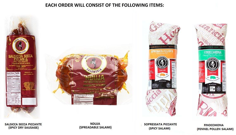 Nduja Salami (Variety Pack - 1, Pack - 1)