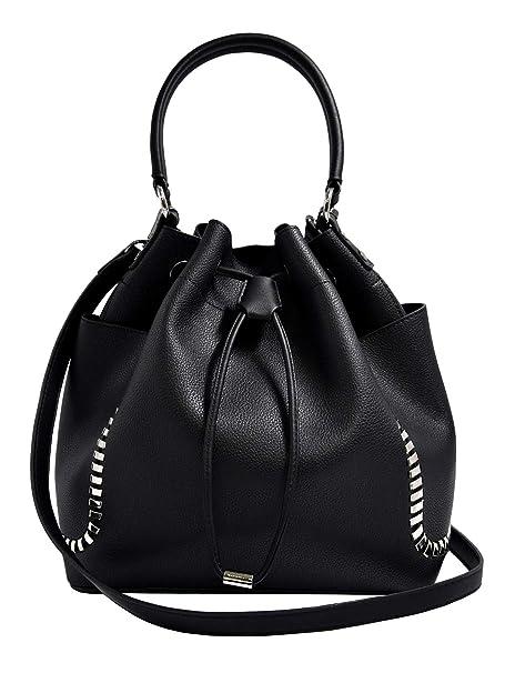 Stylish UK Fashion Bucket Design Ladies Womens Real Leather Shoulder Handbag