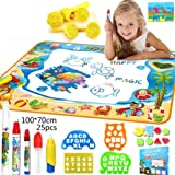 Doodle Mat, Large Aqua Magic Water Drawing Mat Toy Kids Painting Writing Pad Educational Learning Toys