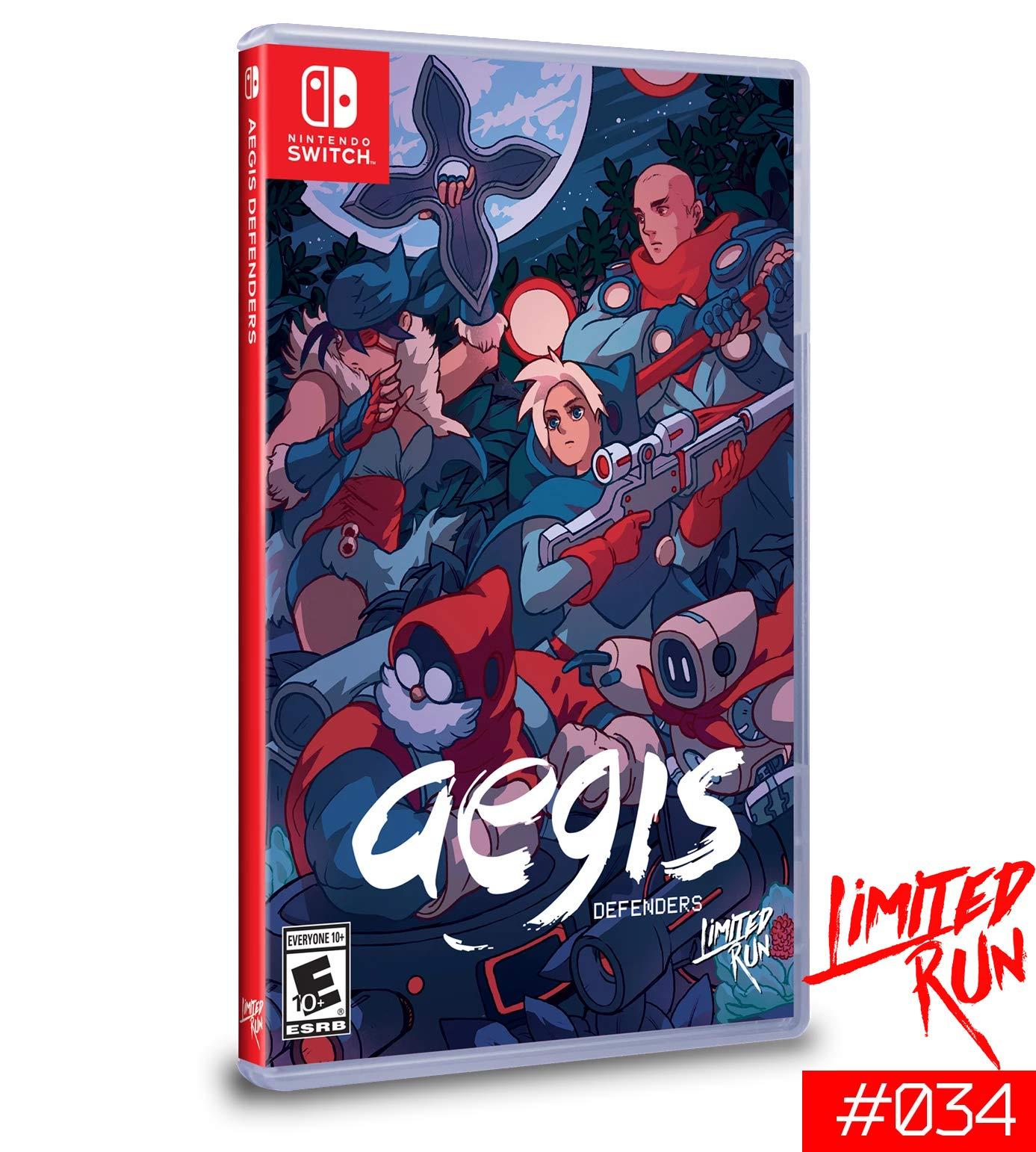 Amazon.com: Aegis Defenders -- Limited Run #34: Video Games
