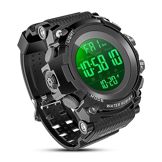 Amazon.com: YEENIK - Reloj digital deportivo para hombre ...
