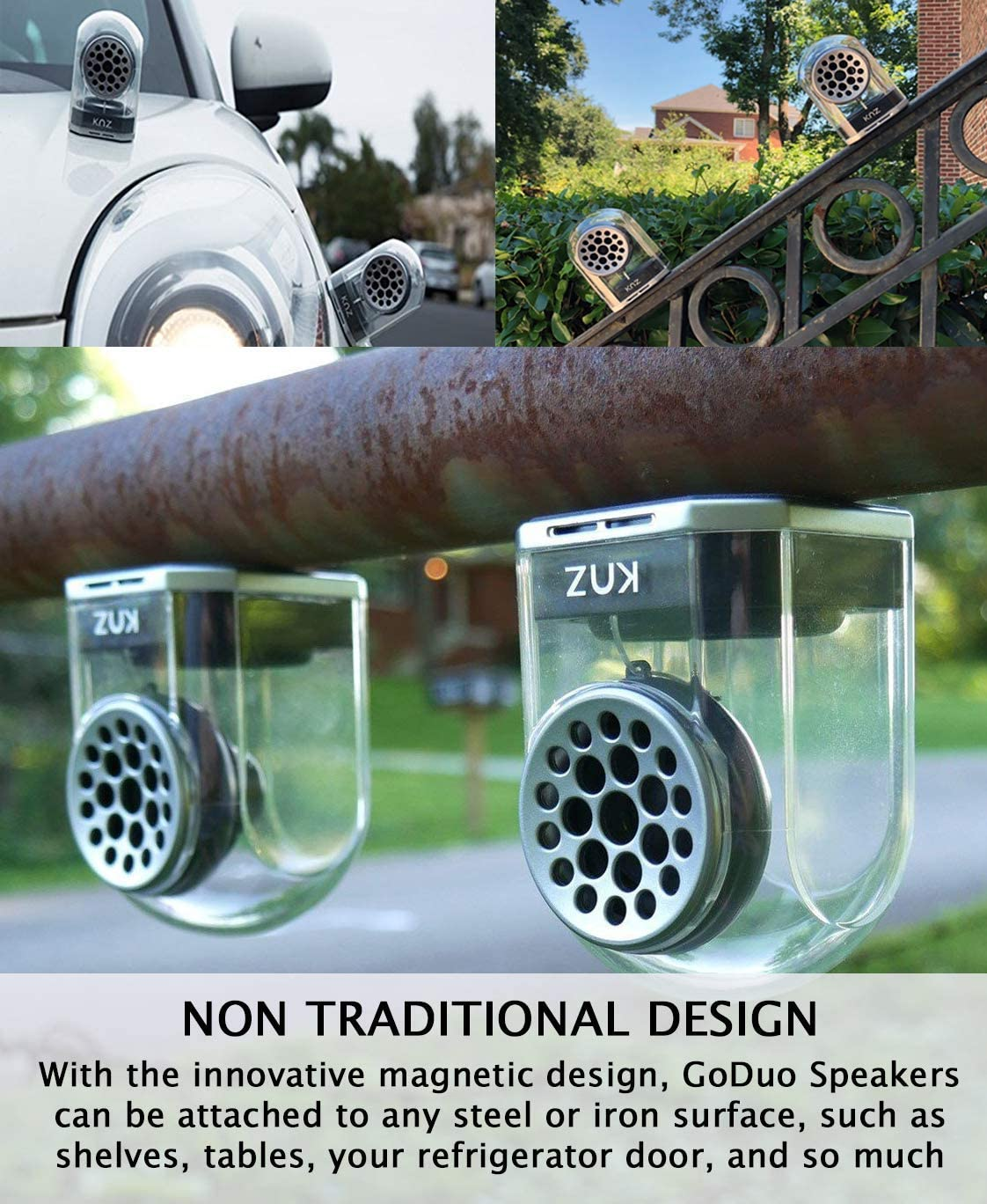 KNZ GoDuo Portable Bluetooth Speaker