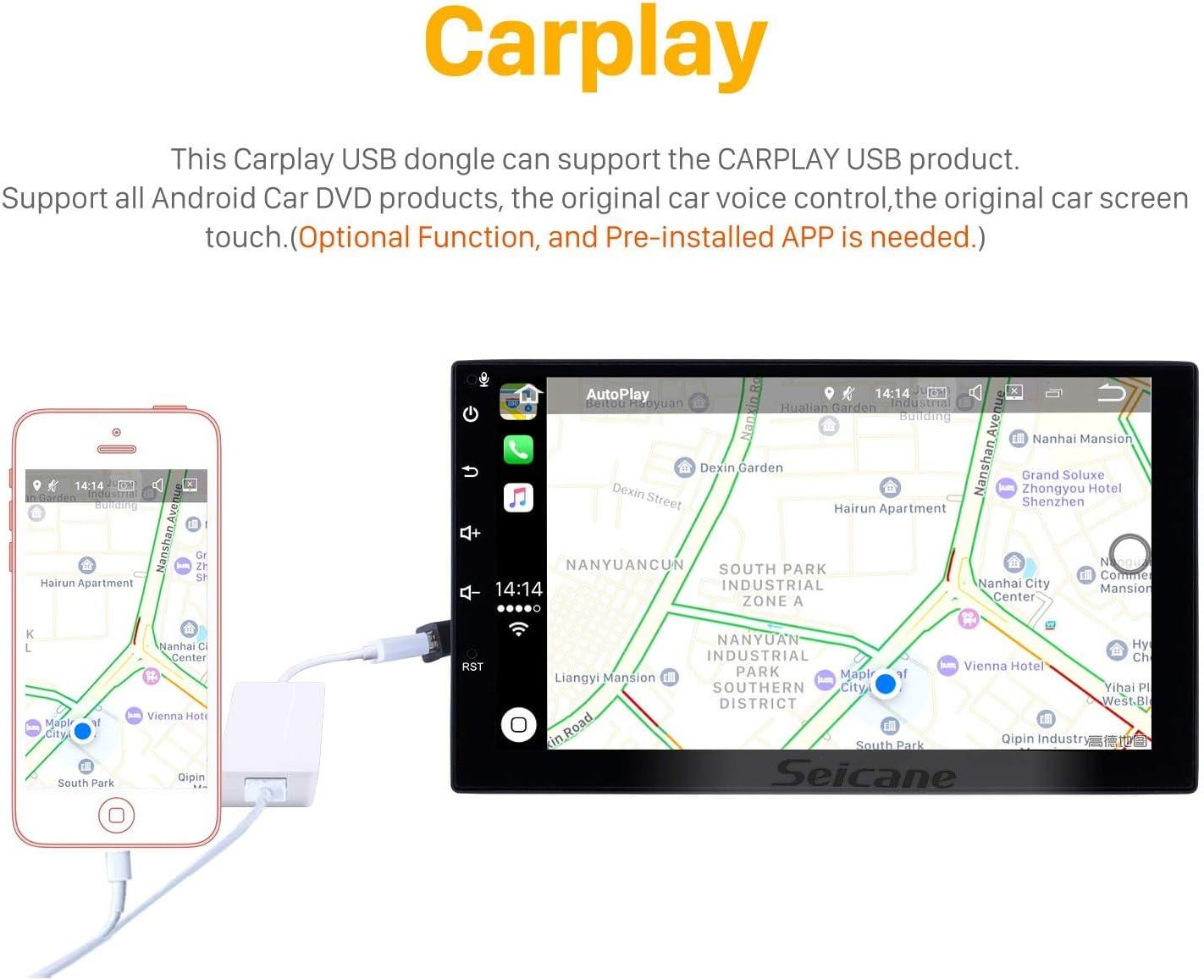 9 Pouces Android 9.0 St/ér/éo de Navigation GPS pour Ford Ranger 2011-2014 avec Prise en Charge de l/écran Tactile USB Bluetooth HD TPMS DVR SWC