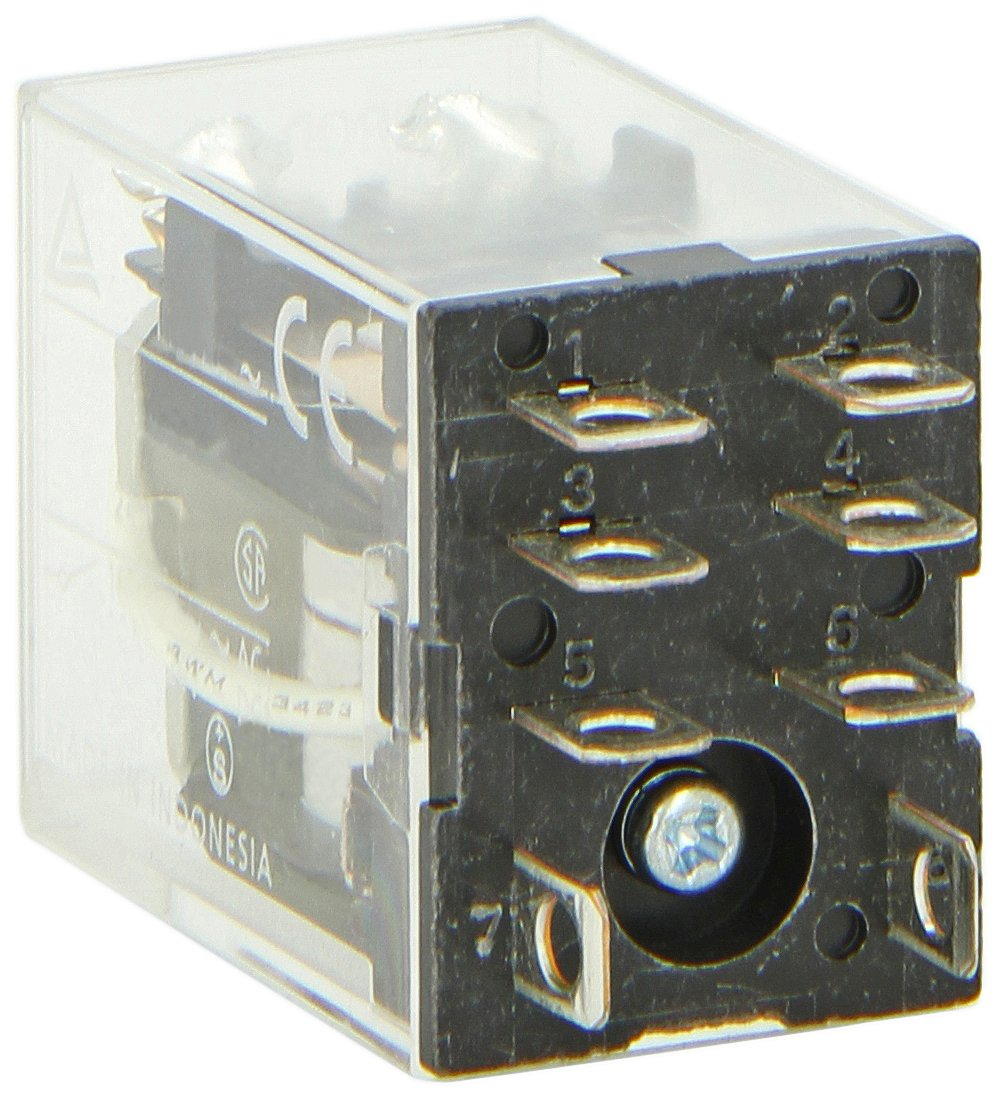 Omron LY2-AC24 General Purpose Relay, Standard Type, Plug-In/Solder