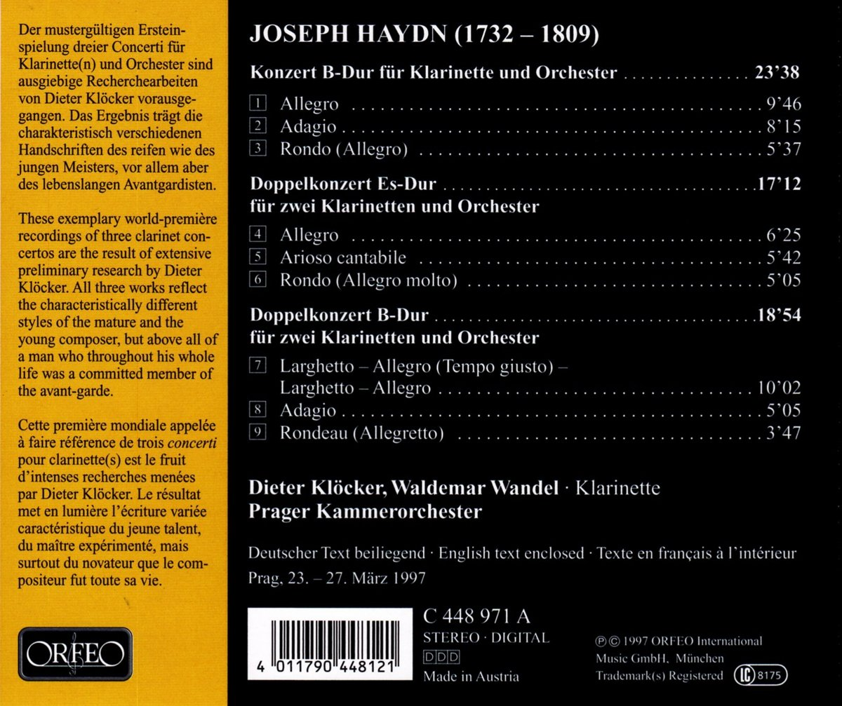 Joseph Haydn (1732-1809) - Page 14 71-BB9MBvKL._SL1200_