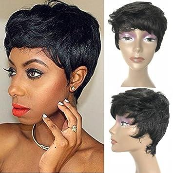 Short Pixie Wigs for Black Women